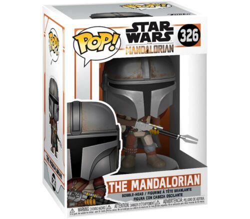 FUNKO POP Star Wars The Mandalorian 326# Action Figures Bobble Head Toy 10cm