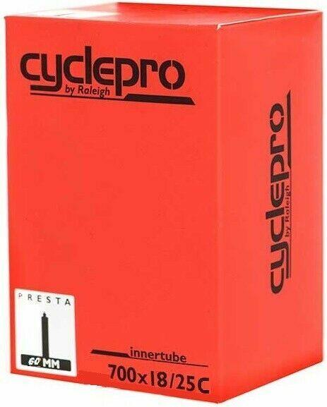 Set of 3 Presta 60mm Long Valve Vavert 700 x 18-25c Road Bike Inner Tubes