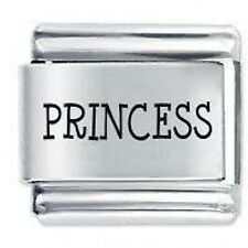 PRINCESS (e) - 9mm Daisy Charms by JSC Fits Classic Size Italian Charm Bracelet