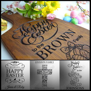 Personalised engraved easter gift for family mum dad son daughter image is loading personalised engraved easter gift for family mum dad negle Images