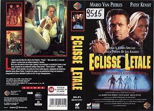 ECLISSE LETALE (1994) vhs ex noleggio - Italia - ECLISSE LETALE (1994) vhs ex noleggio - Italia