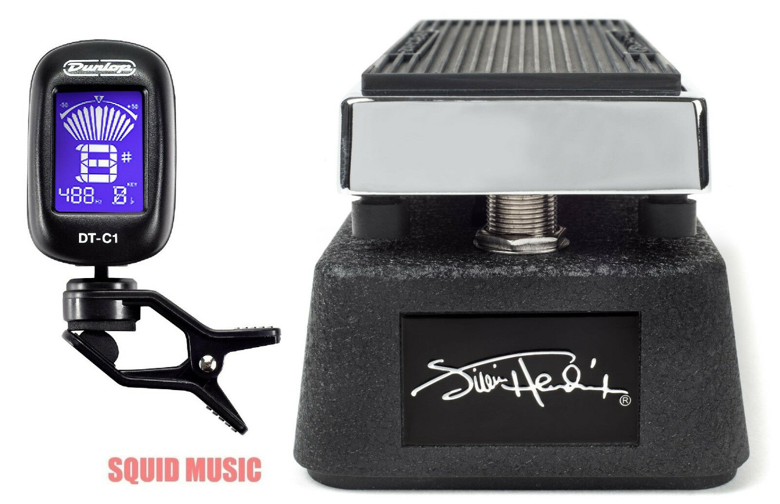 Dunlop JHM9 Jimi Hendrix Cry Baby Mini Wah Guitar Effects Pedal ( DUNLOP TUNER )