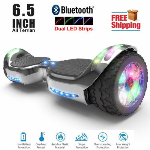 Hoverboard All-Terrain Self Balancing Flash Wheel Dual LED