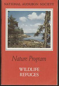 Booklet-National-Audubon-Society-Nature-Program-Wildlife-Refuges