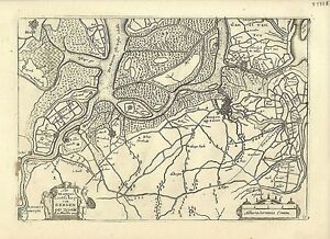 Antique-map-Het-Marquisaetschap-van-Bergen-Op-Zoom