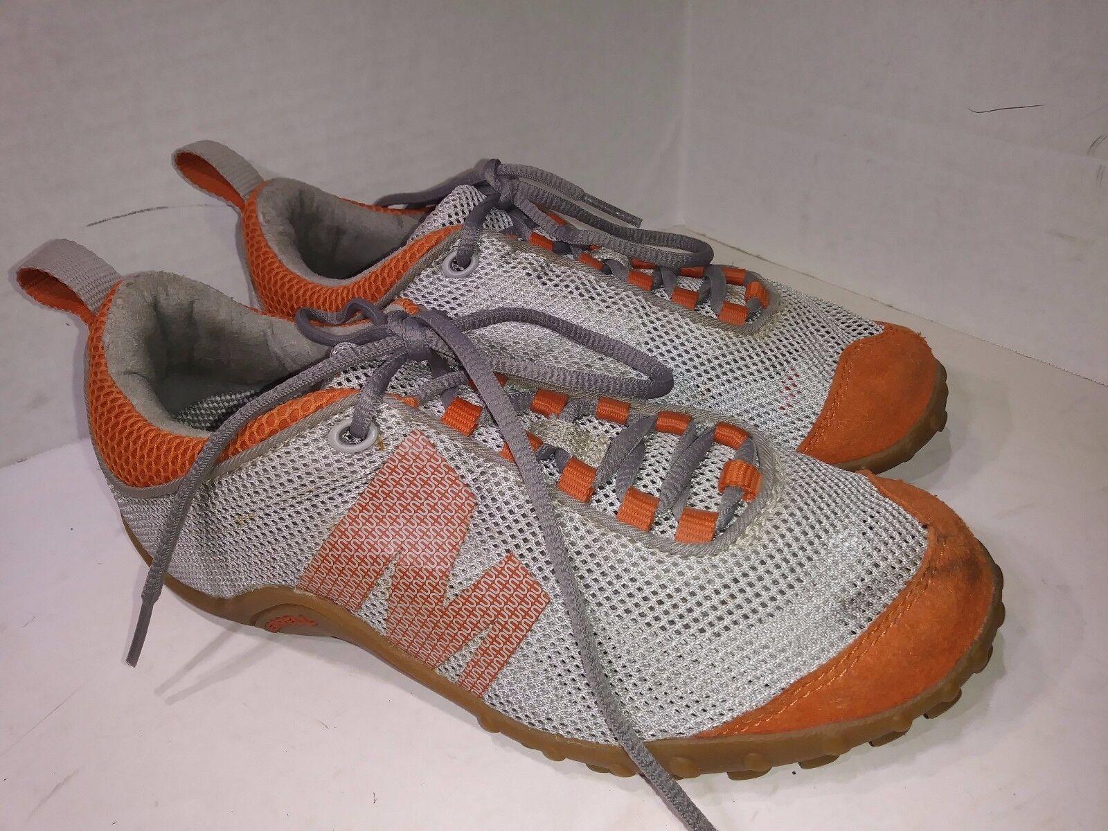 MERRELL SPRINT STREAK VENTILATOR GREY orangeSneakers Womens Size 6.5