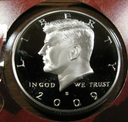 2009-S Silver Proof Kennedy Half Dollar 90/% Silver Deep Cameo Proof Coin