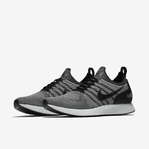 8ed12321c2a4d NEW Nike Men s Air Zoom Mariah Flyknit Racer Shoes Black White Oreo ...