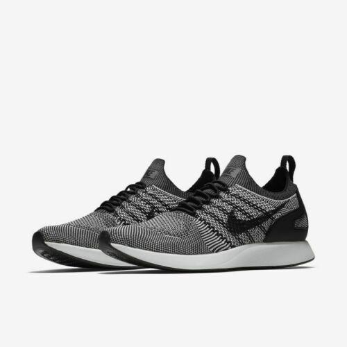 NEW Nike Men/'s Air Zoom Mariah Flyknit Racer Shoes Black White Oreo MANY SIZES