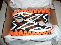 Reebok ZigTech ZigSonic men's shoes mens size 12.5 15 16 black orange new