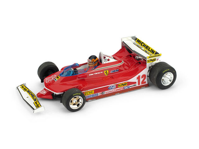Ferrari 312 t4 G. villeneuve 1979  12 test usa Ovest GP w Driver 1 43 pfuit