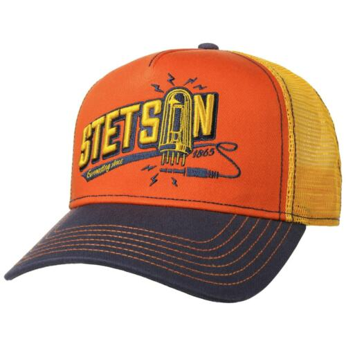 STETSON Connecting Trucker Cap Basecap Baseballcap Meshcap Truckercap Snapback