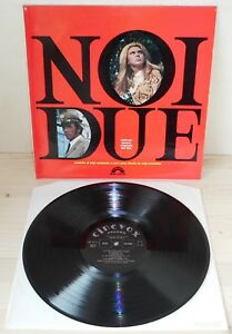 LP-LUIGI-MALATESTA-amp-CARLO-BIXIO-Noi-due-OST-Cinevox-69-1st-ps-MINT