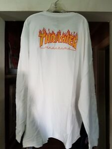 2963b816fdcf BRAND NEW VANS OFF THE WALL THRASHER MAGAZINE CHECKER LONG SLEEVE ...