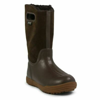 Bogs Youth Girls Prairie Solid Boots Brown 2 New