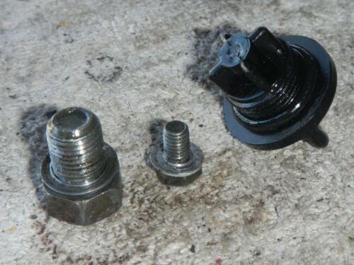 Oil level filler drain plug cap 2000 Suzuki RM125 RM125