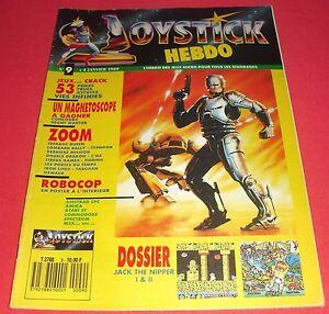 Magazine-Joystick-Hebdo-n-9-4-Janv-1989-Amstrad-CPC-Amiga-Atari-ST-MSX-JRF