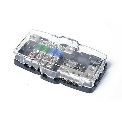 TIYANG Car Audio Distribution Fuse Block with Ground Mini ANL Fuse Box  Distri... 651312522560 | eBayeBay