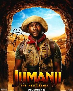 Kevin-HART-Signed-10X8-Photo-Jumanji-Genuine-Signature-AFTAL-COA-A