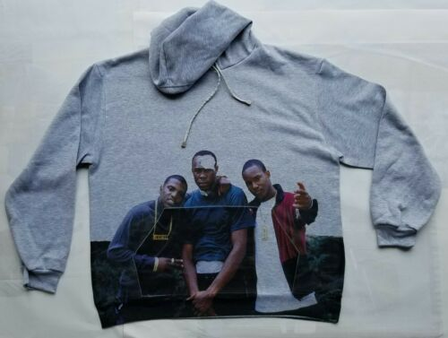 """Paid in Full /""""you tough right?!/"""" Hoody sweatshirt classic hip hop movie gangster"""