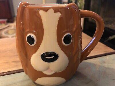 Tag Brand 3d Ceramic Animal Coffee Cup Mug Brown Dog Ebay