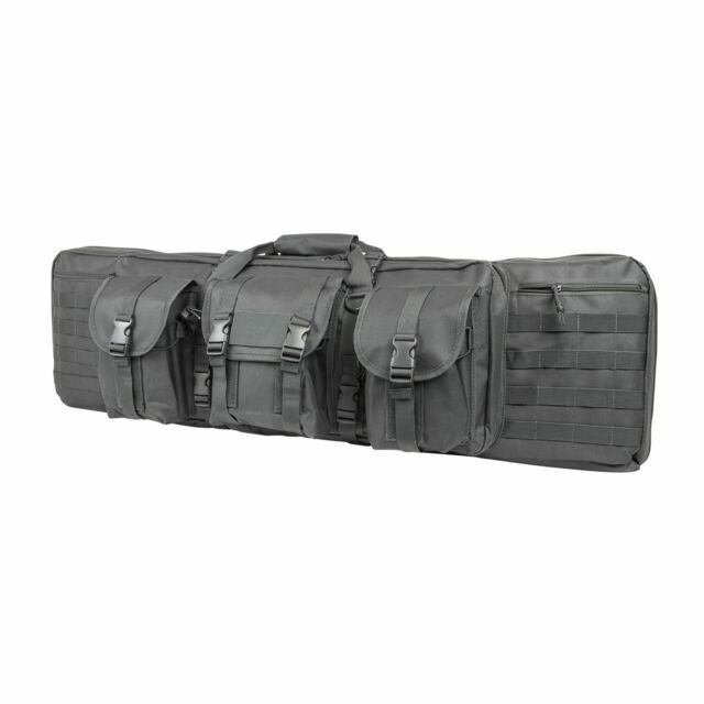 "NcStar VISM Tactical 36/"" Digital ACU Padded Double Carbine Rifle Gun Case Bag"