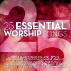 25 Essential Worship Songs [1/28] by Various Artists (CD, Jan-2014, Benson)