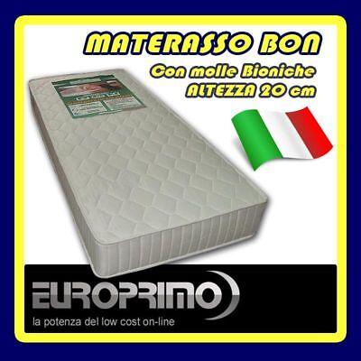 Materassi Low Cost.Materasso Singolo Ortopedico A Molle Biconiche 80 X 190 Alto Ben