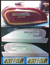 Kit completo  Honda Four 400 rosso - adesivi/adhesives/stickers/decal