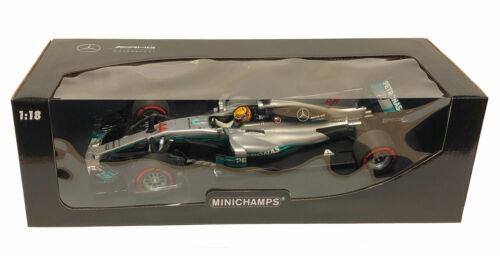 Minichamps Mercedes F1 W08 MEXICAN GP 2017 campeón-Lewis Hamilton Escala 1//18