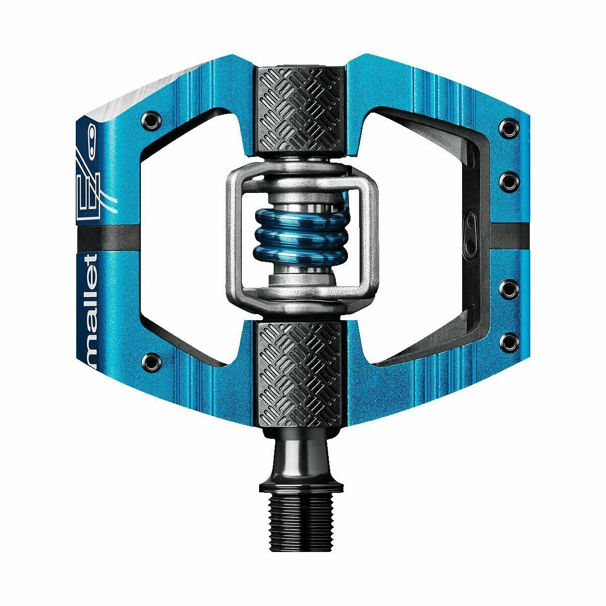 Crank Brothers Mallet E Bike Pedals Enduro Ride & Race - Blau - NEW