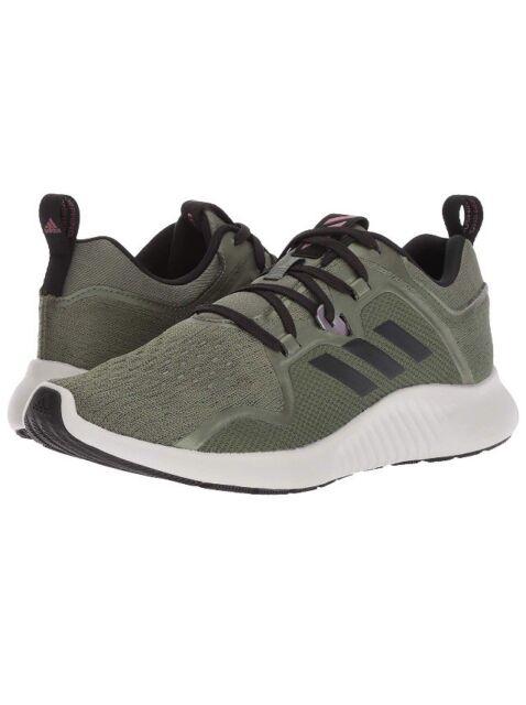 Women Adidas Edgebounce W RunningAthletic Shoes Sneaker Base GreenBlack BB7561