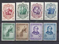 italie mi 634-641 volledige jaargang 1942 - plakker