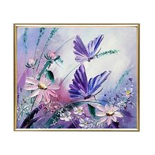 Butterflies DIY Diamond Painting Mosaic Kit Picture