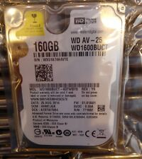WESTERN DIGITAL WD1600BUCT AV-25 160GB 5400RPM 16MB CACHE SATA II 2.5'