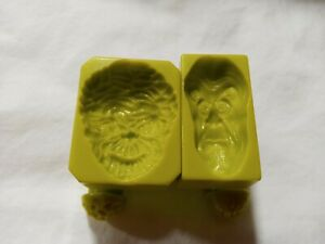 1986-Mattel-Mad-Scientist-Monster-Lab-Monster-Face-Stamps-amp-Skin-Stamps-Parts