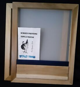 Screen-Printing-Frame-20-by-16-200-Mesh-and-Squeegee