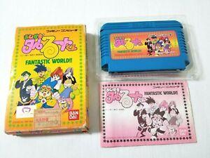 Nintendo Famicom Magical Taruruto Kun FANTASTIC WORLD! Japan 0329A23