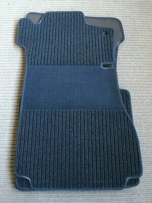 BLAU $$$ Rips Fußmatten passend für Mercedes Benz R129 W129 SL NEU $$$