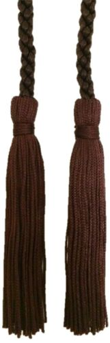 Dressing Gown Cord With Tassels Tasseled Curtain Tie Backs 150cm Long