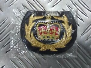 Genuine-British-Royal-Navy-RN-Warrant-Officer-WO2-Cuff-Sleeve-Badge-EPB53A