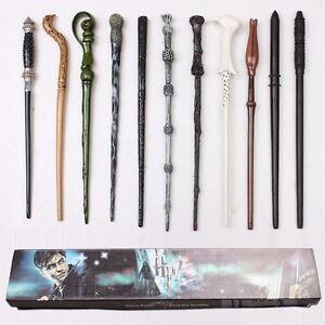 Harry-Potter-Hermione-Dumbledore-Sirius-Voldemort-Fleur-Magic-Wand-In-Gift-Box