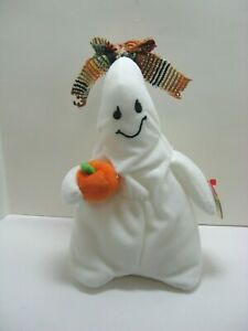 Ty Beanie Babies Ghoulianne white ghost  2004