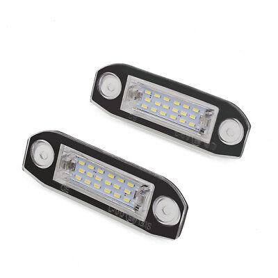 Volvo V70 MK2 3SMD LED Error Free Canbus Side Light Beam Bulbs Pair Upgrade