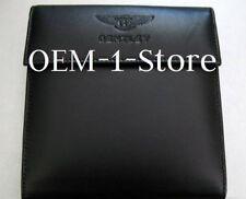 BENTLEY CONTINENTAL GT FLYING SPUR NAV CD DVD MAP DISC NAVIGATION LEATHER CASE