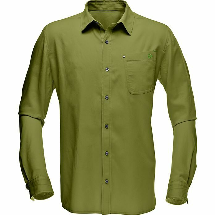 Norrona /29 long sleeve Shirt / Hemd , leichtes Outdoor und Trekking Hemd