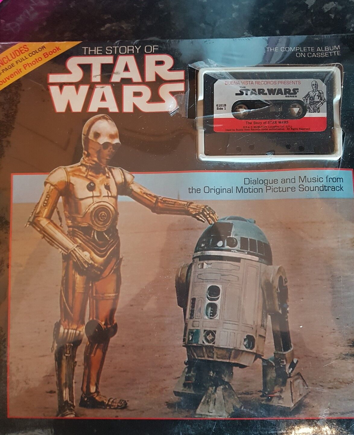 The story Of Star Wars Cassette Tape 1977 Sealed
