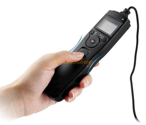 Tempo trascorso intervalometer TIMER Remote Shutter Release per Canon EOS 7D 10D 20D