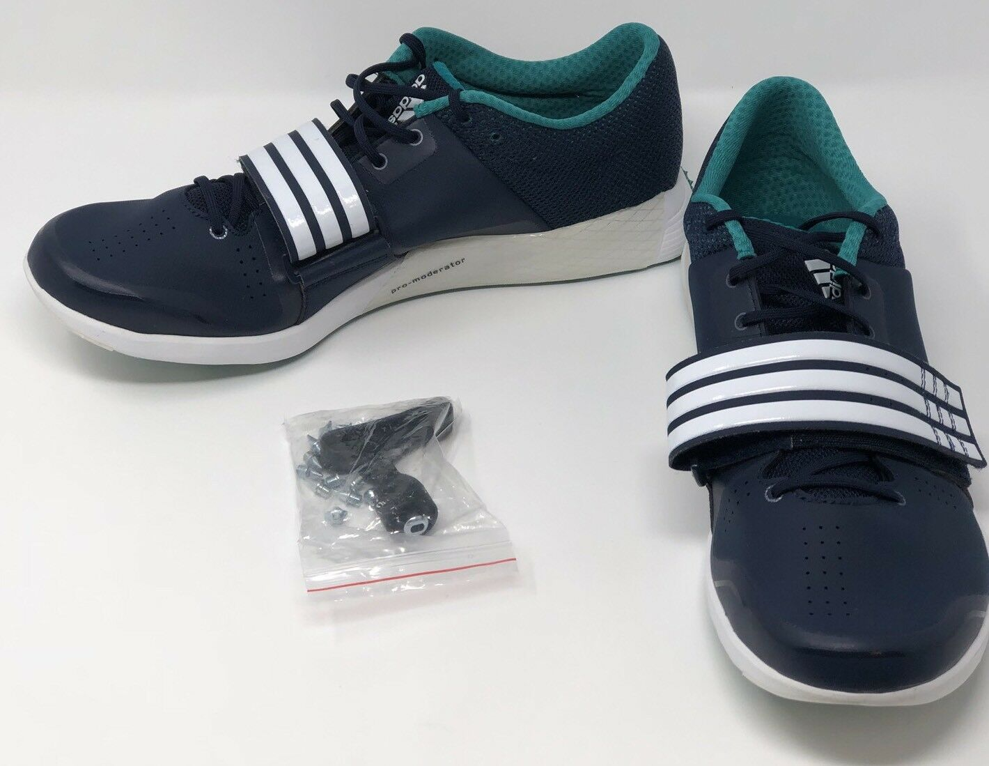 Adidas Performance Adizero TJ/PV Triple Jump Pole Vault Shoe Navy Sz 12 AF5664 Seasonal price cuts, discount benefits