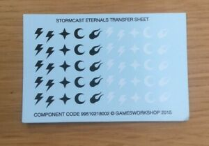 Decals sheet x 2 Age of Sigmar Soul Wars Transfer